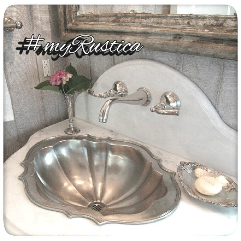 rustic bath sinks