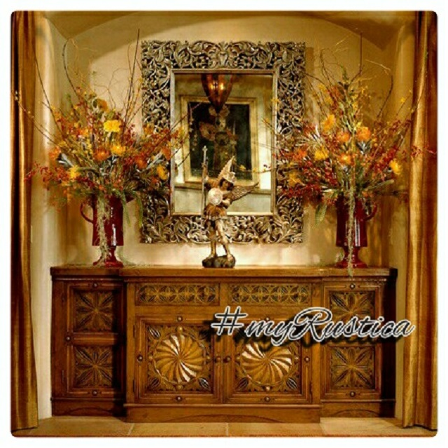 colonial hacienda furniture from Mexico