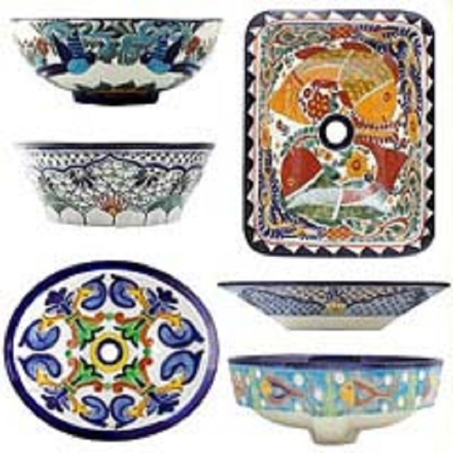 mexican sinks for talavera bath toilets