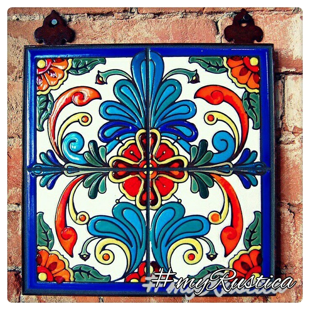 mexican high relief tiles
