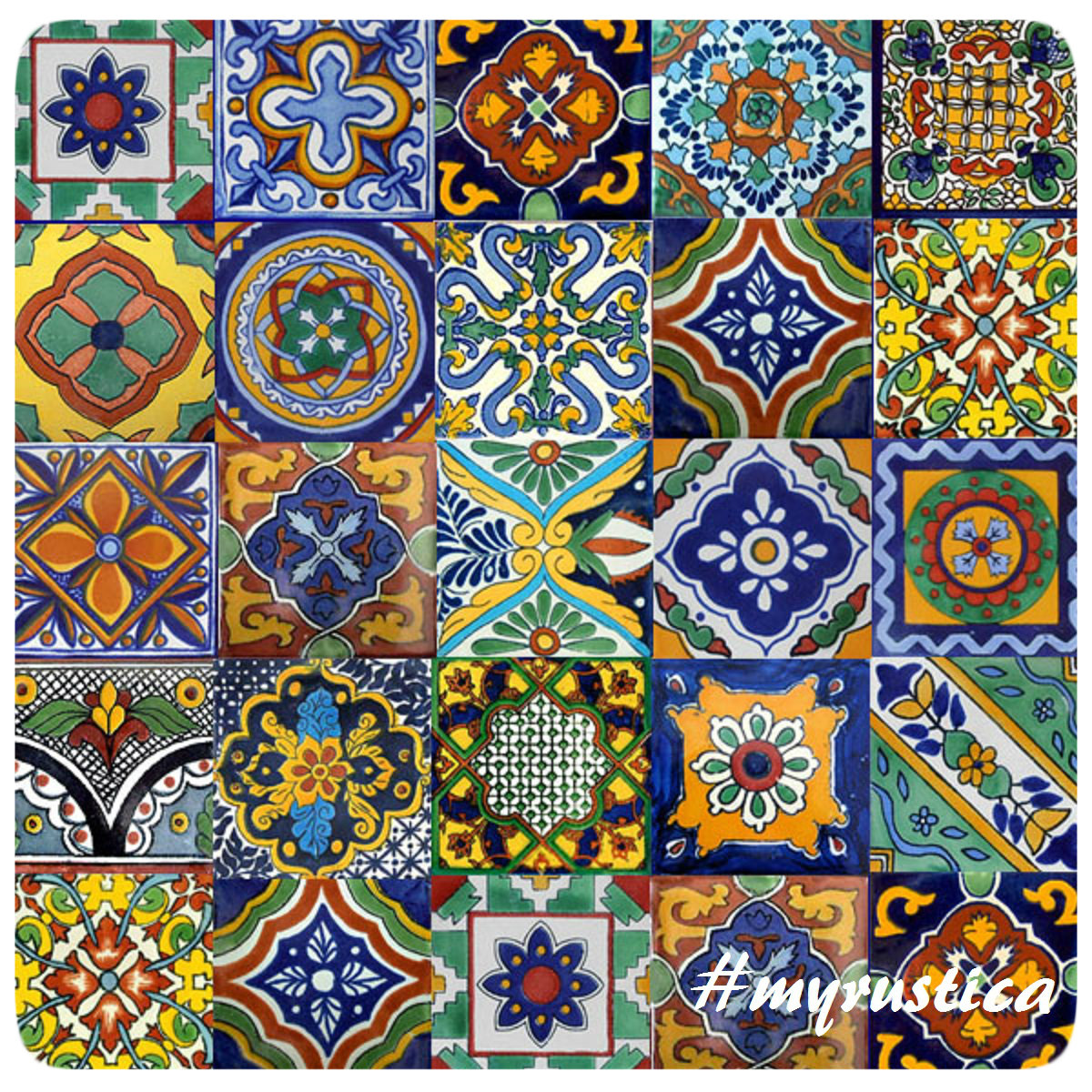 mexican tile mix