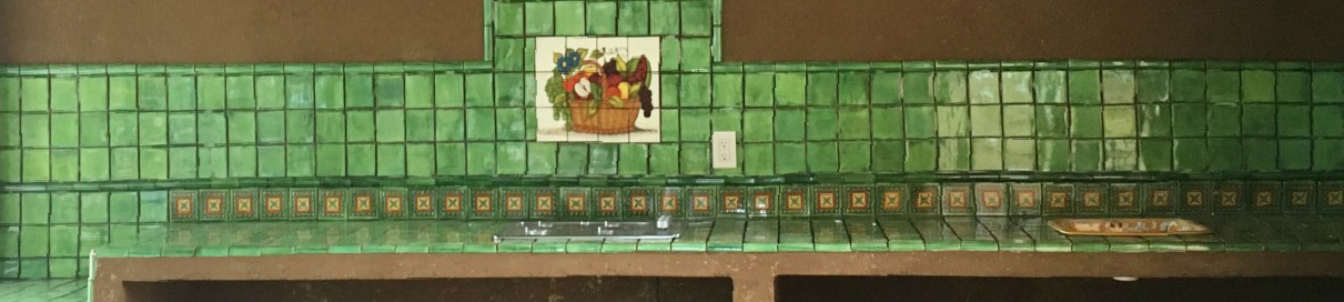 mexican kitchen tile murals