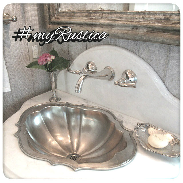 round, square and rectangular pewter bath sinks for undermount, drop-in, and vessel installation