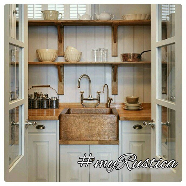 rustic kitchen hoods, sinks, table-tops