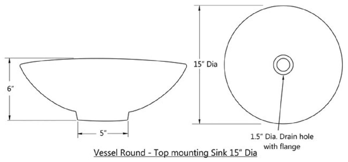 round talavera vessel sink for a rustic bathroom