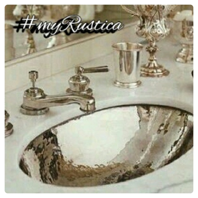 hammered bath zinc sinks