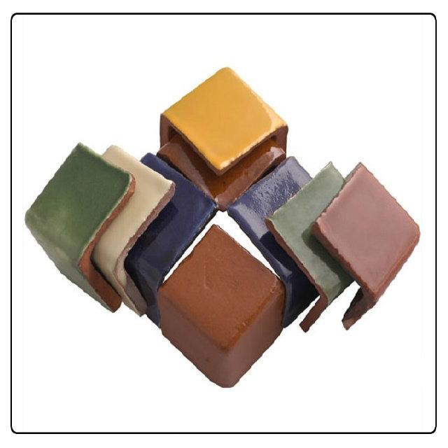 mexican ceramic end tiles