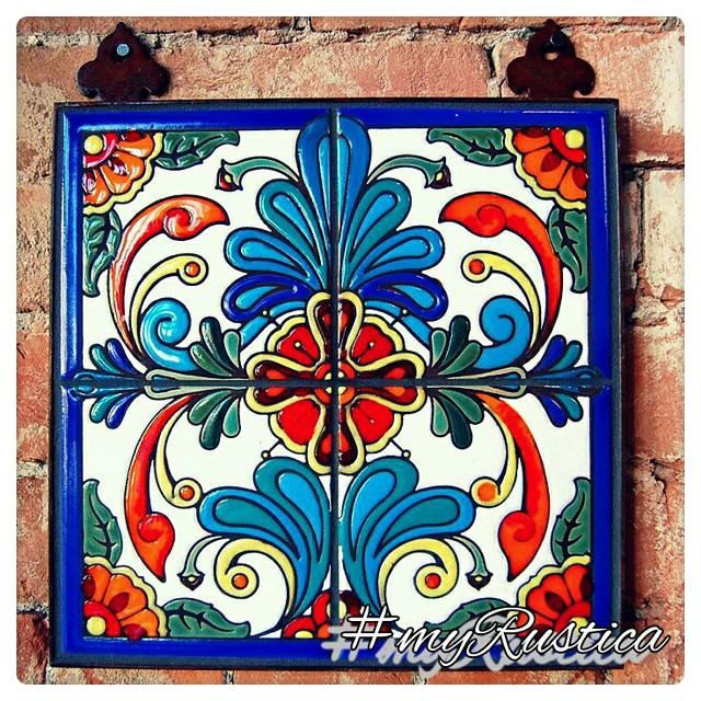 mexican high relief tiles