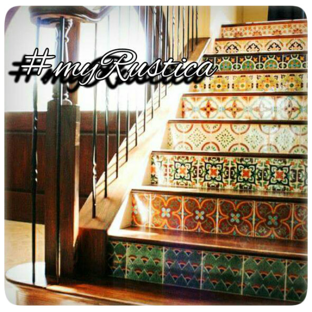 Mexican Stair Riser Tile Catalayud Green