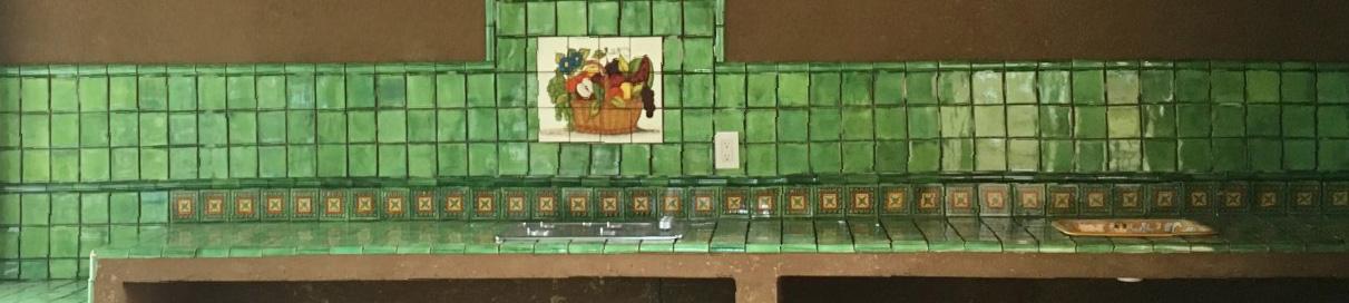 Mexican Kitchen Tile Murals