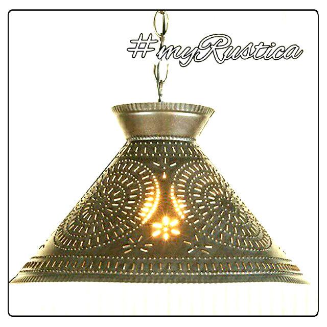 Tin Lamp Shades